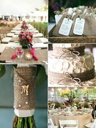 Decorated Jars For Weddings Wedding Reception Ideas Using Burlap bazaraurorita 53