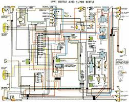 vw beetle wiring diagram vw image wiring diagram auto wiring diagram 1971 vw beetle and super beetle on vw beetle wiring diagram 1971