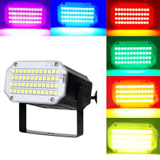 Strobe Light Halloween Ideas Mini Flash Strobe Lights 24 36 48leds Super Bright Led Stage Lighting With Sound Activated And Speed Control For Holiday Party Halloween Christmas
