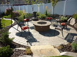 paver patio with gas fire pit. Plain Pit Pave Patio With Gas Fire Pit Paver With  Throughout Pit R