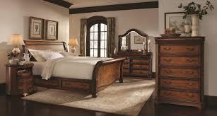 Napa Bedroom Furniture Aspenhome Napa Sleigh Storage Bedroom Set In Cherry