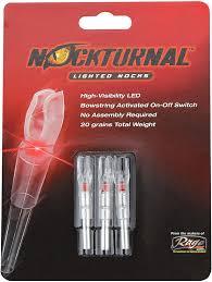 Nockturnal Gt Lighted Nocks Nockturnal Gt Lighted Nocks For Arrows With 246 Inside Diameter Including Various Gold Tip Arrows