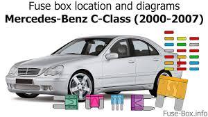2004 Mercedes Benz C230 Kompressor Fuse Box Wiring Diagrams