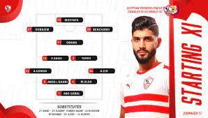 """Zamalek SC på Twitter: """"تشكيل الزمالك لمباراة الإسماعيلي بالدوري الممتاز.  ⚽️🗒… """""""