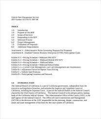 Sample Service Proposal 16 Example Format