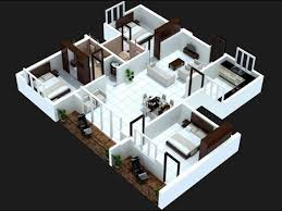 40 Bedroom ApartmentHouse Plans YouTube Classy 3 Bedrooms For Sale Set Plans