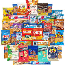 cookies chips candy snacks ortment bulk sler by variety fun care package 40 count