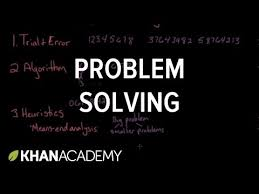 problem solving video cognition khan academy