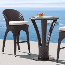 outdoor bar table and chairs. Appealing Patio Furniture Bar Set And Modren Outdoor Pub Tables Chairs Barths Table Brown T