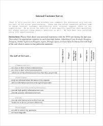 customer service satisfaction survey examples 7 customer service questionnaire examples samples examples
