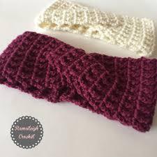 Crochet Patterns For Headbands Interesting Twisted Headband Free Crochet Pattern