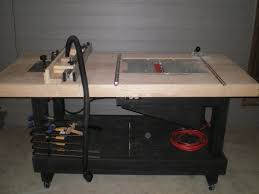 woodworking bench with table saw. table saw? router? or work bench? woodworking bench with saw