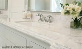marble bathroom countertops. Marble Like Countertops Cambria Quartz Bathroom Countertop Looks Carrara Color Natural Plans