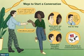 how to start a conversation the right way
