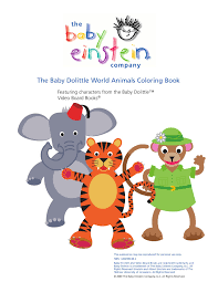 Small Picture Baby Einstein Neighborhood Animals Coloring Book Coloring Pages