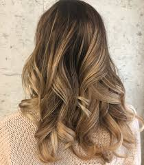 Brown and blonde highlighted hair pictures