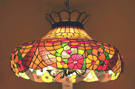 stained glass hanging light lamps for stained glass hanging light vintage pendant lights porch