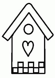 Small Picture Printable Pictures Of Birdhouses Coloring Coloring Pages