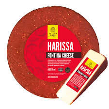 Mayan cocoa coffee fontina is the perfect cheese for melting, snacking and sandwiches. Fontina Yellow Door Creamery