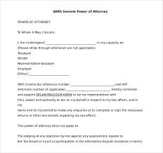 Letter For Power Of Attorney 15 Word Power Of Attorney Templates Free Download Free