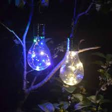 Camping Christmas Lights Ip44 Waterproof Led Solar Light Bulb Solar Rotatable Outdoor Camping Hanging Night Light Home Garden New Year Christmas Decor