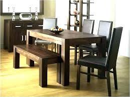 dining room table with built in bench seating fancy sets nice and chairs new tab