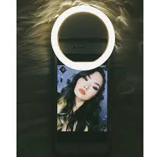 Flawless Lighting Clip On Selfie Ring Light Flawless Lighting By Kb Selfie