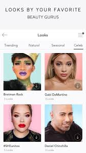 create a unique style with the application change your look with the touch up system by applying various exclusive appearance filters from brettman rock
