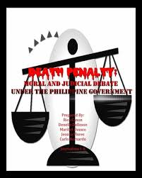 death penalty moral and judicial debate under the philippine picture