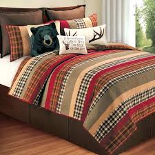 rustic quilt bedding sets rustic quilt bedding sets lodge bedding sets in a bag bedrooms and