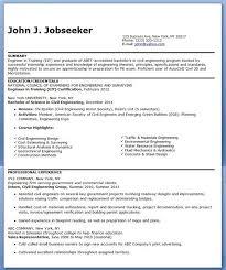 Civil Engineering Resume Awesome Civil Engineer Resume Sample Entry