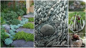 contemporary design rock garden ideas for backyard to implement in your homesthetics