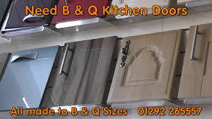 Maple Kitchen Cupboard Doors Bq Kitchen Doors And B And Q Kitchen Cupboard Doors Youtube