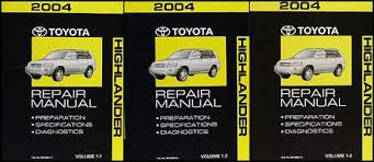 2004 toyota highlander wiring diagram manual original related items