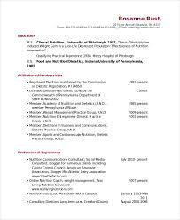dietitian resume 10 nutritionist resume templates pdf doc free premium templates