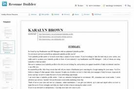 Linkedin Resume Builder Beauteous Word Linkedin Resume Builder Archives 28 Player