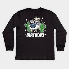 Loot Wear Size Chart Its My Birthday Llama Purple Loot Shirt