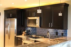 brilliant plain kitchen backsplash ideas for dark cabinets