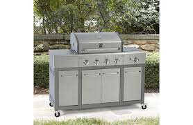 kenmore natural gas grill. kenmore 4 burner stainless steel lid natural gas grill