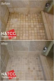 Cleaning, colorsealing, regrouting a dirty shower with moldy grout and caulk