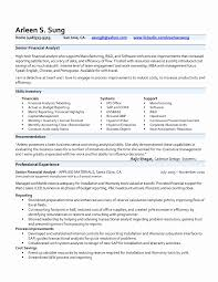 Business Analyst Sample Resume Business Analyst Sample Resume Finance Lovely Cost Accounting 48