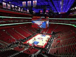 Little Caesars Arena Section M1 Home Of Detroit Pistons