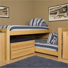 l shaped twin bunk beds