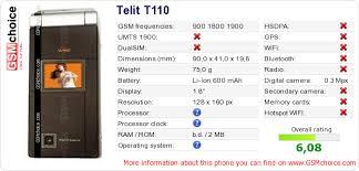 Telit T110 :: GSMchoice.com