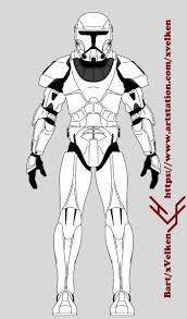 star wars template artstation star wars clone trooper armor templates bart