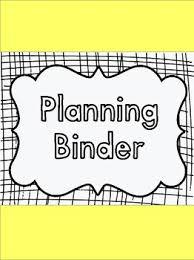 Simple Teacher Binder Covers By Allison Chunco Tpt