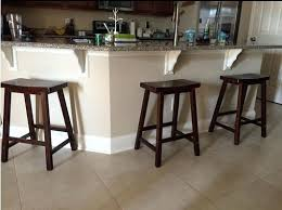 Dining Room: Various Saddle Seat Bar Stool And Counter Intended For Awesome  Home 24 Of