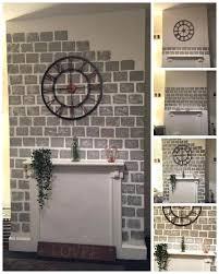 paint fireplace brick fireplace before fireplace paint stone effect
