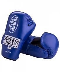 <b>Накладки для карате Green</b> Hill 7-contact SCG-2048, к/з, синий ...