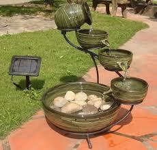 Back Yard Fountain U2013 MobiledavemeSolar Garden Fountain